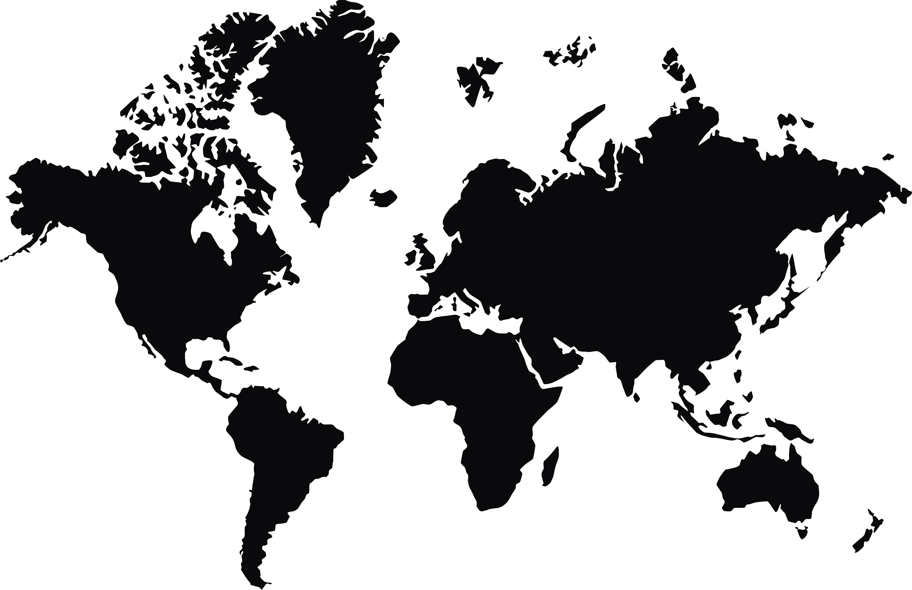World Map In PNG | Web Icons PNG